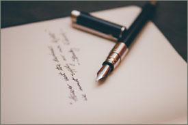 penna che scrive