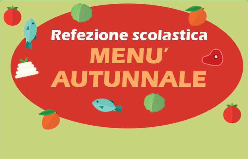 menu autunnale